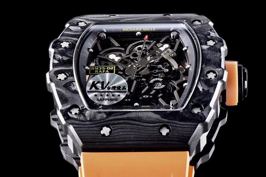 (Ready stock) KVF v3 Richard_Mille RM035-02 Rafael Nadal Forged Carbon