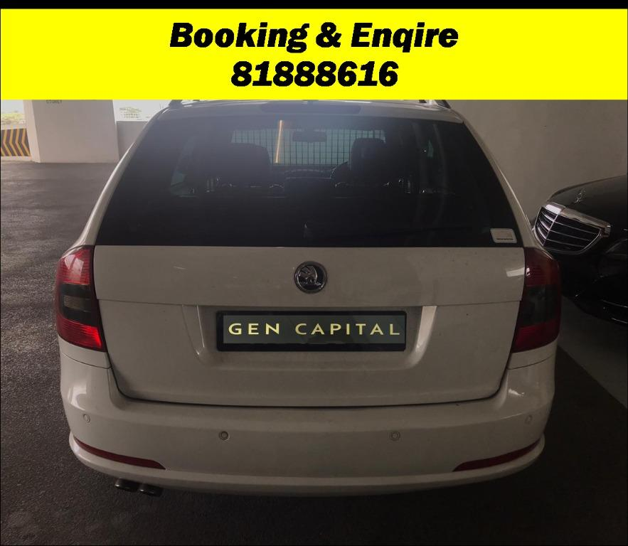 Skoda Octavia Combi 2.0A JUST IN 20/02/20. Most Economical, High Fuel Efficiency & Reliability. PHV/ Personal/ Parcel delivery ready. Just $500 Deposit driveoff immediately. No hidden cost. Whatsapp 81888616 now!