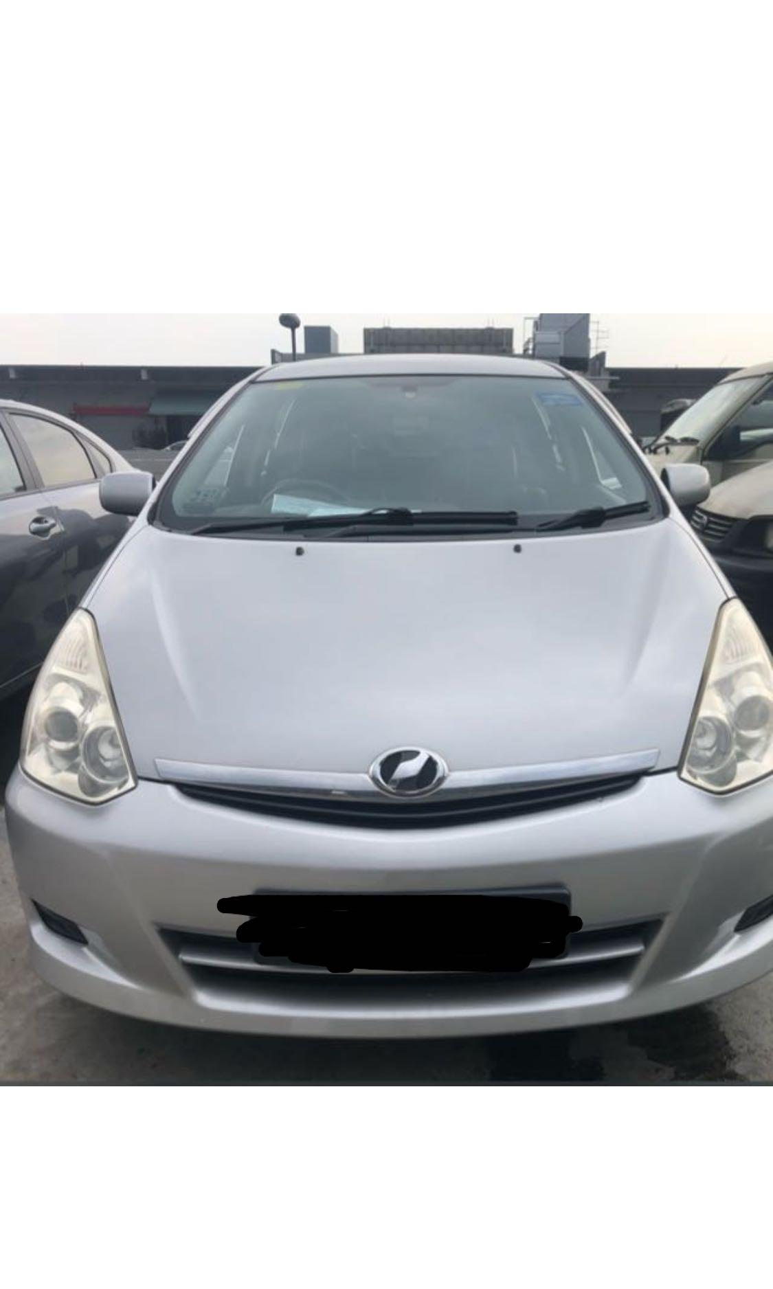 Toyota Wish for Rent (PDVL/Go-Jek/Grab/Personel) Car for rent