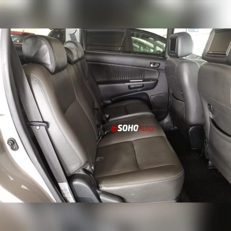 Toyota Wish MPV/SUV For Rent 7 Seater Family SG Car Rental Singapore Vehicle Leasing