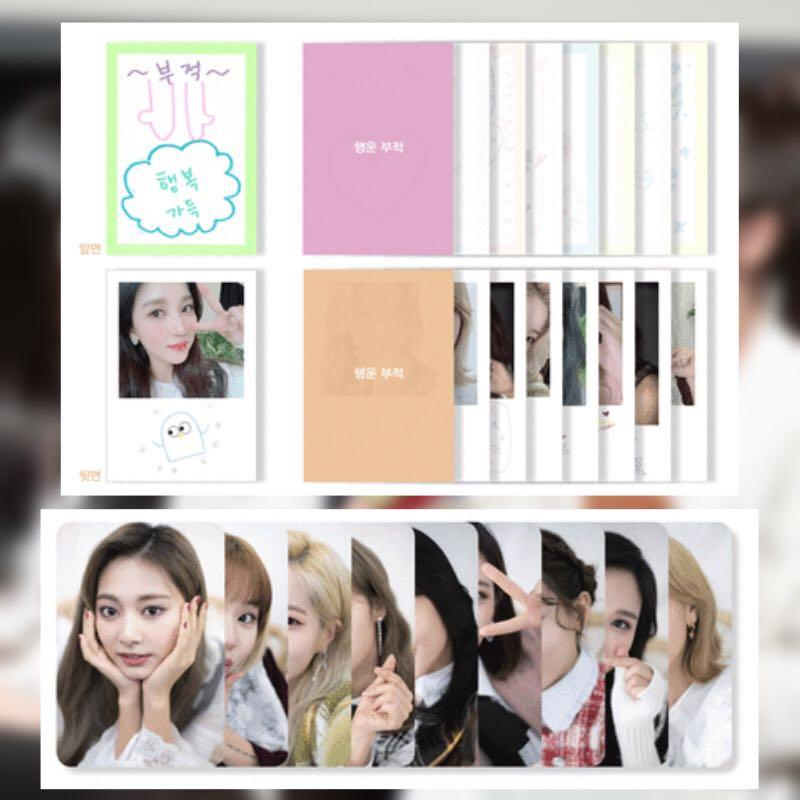 Twice Dicon Handwritten Lucky Charms and Photocards