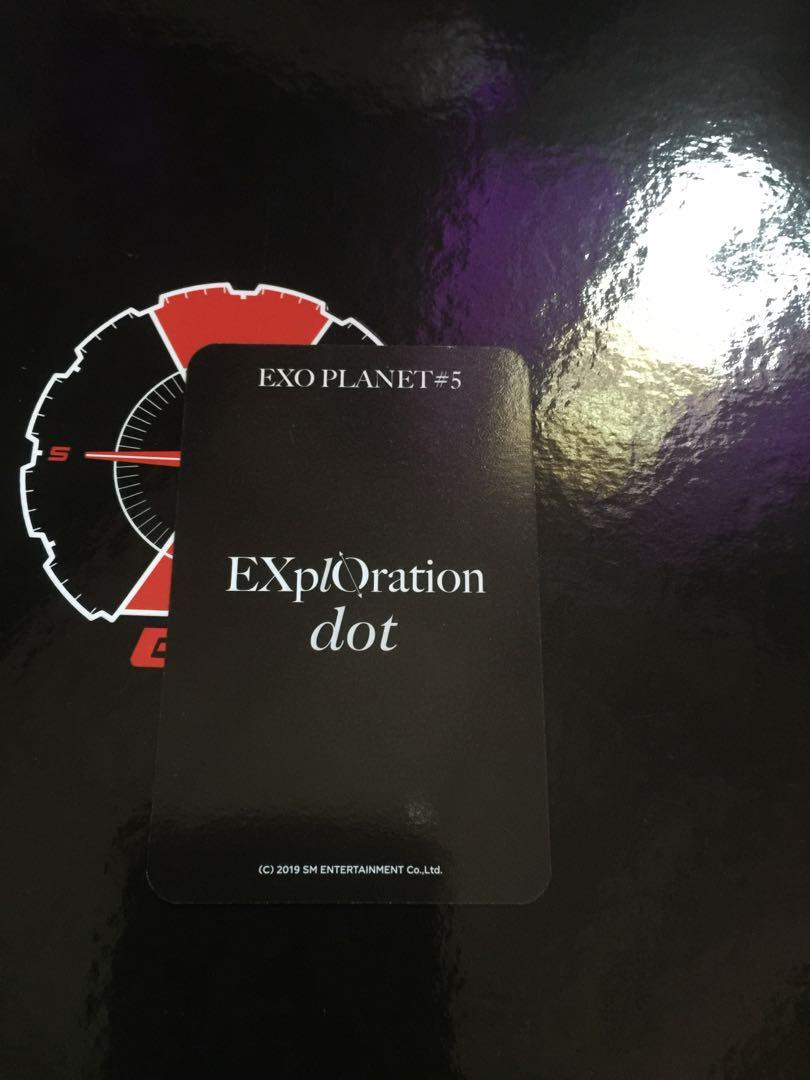 [WTS] EXO Planet 5 EXplOration dot acryclic photo charm Sehun pc