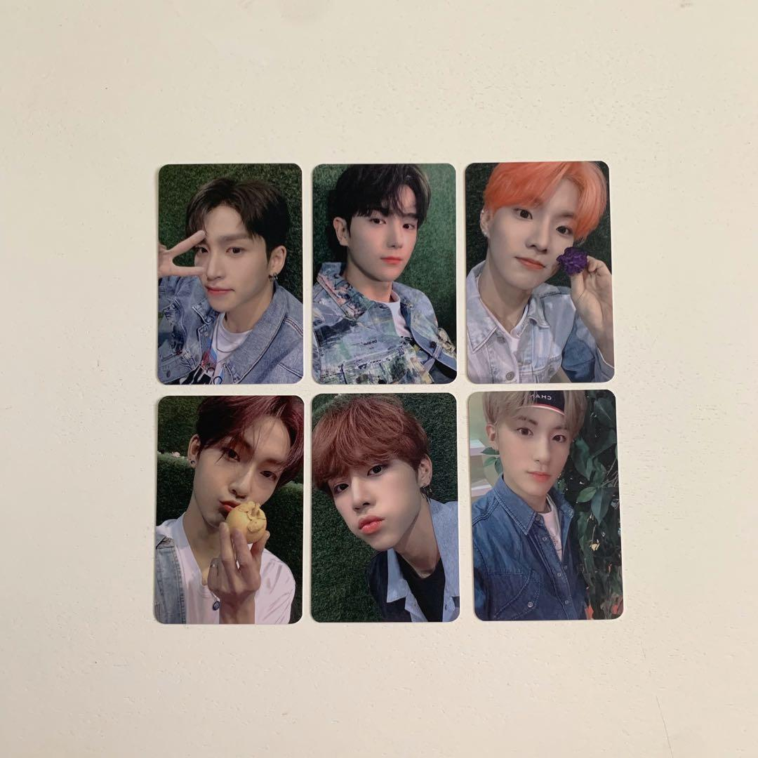 wts the boyz bloom bloom special unreleased broadcast photocards