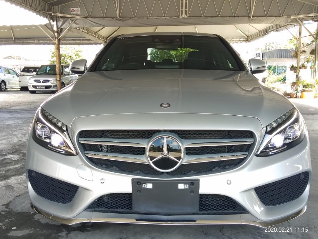 📱0⃣1⃣2⃣2⃣6⃣3⃣7⃣2⃣7⃣2⃣ ~PRICE ON THE ROAD RM187,888.88👍 MERCEDES C200AMG RECORD2016 👍FUOM~🇯🇵☺