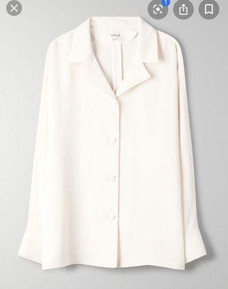 Aritzia Wilfred Rondel Jacket blouse button up blouse