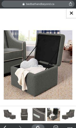 Brand New Glider with Ottoman in Box