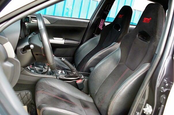 售09年出廠 SUBARU GRF STI 五門 車架原 精品改裝 無待修 可鑑定試車 無法全額貸 0987707884