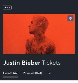 Justin Bieber Changes Tour Toronto Tickets