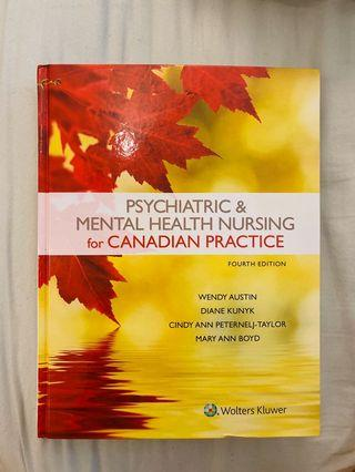 Psychiatric & mental health Nursing textbook
