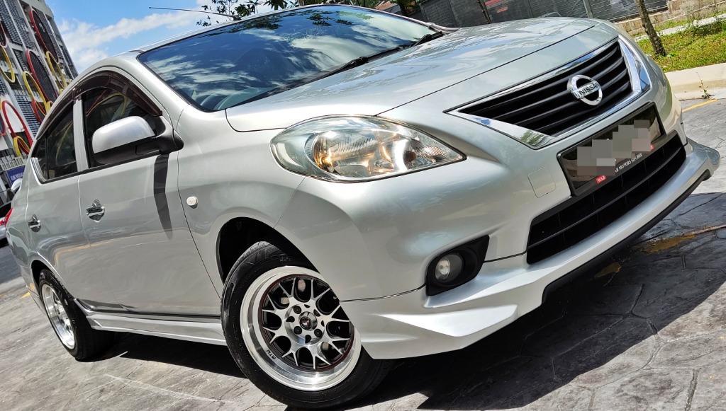 2012 Nissan ALMERA 1.5 (A) Dep3990 LOAN KEDAI CONFIRM LULUS