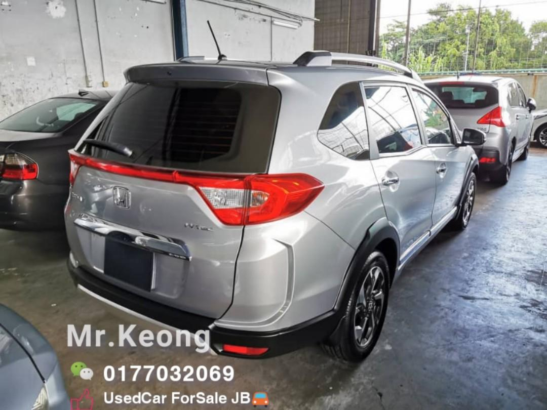 2017TH🚘HONDA BRV 1.5AT V FullSPEC MILEAGE 5XXXXKM With RecordBook Under Honda Warranty Until 2022TH⚠️Cash OfferPrice Rm66,800 Only🎉️LowestPrice🔥InJB Call📲KeongFor More🤗