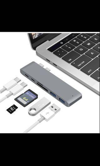 「全新」AppleMacbook可用 雙口專用Type-C轉USB轉接頭