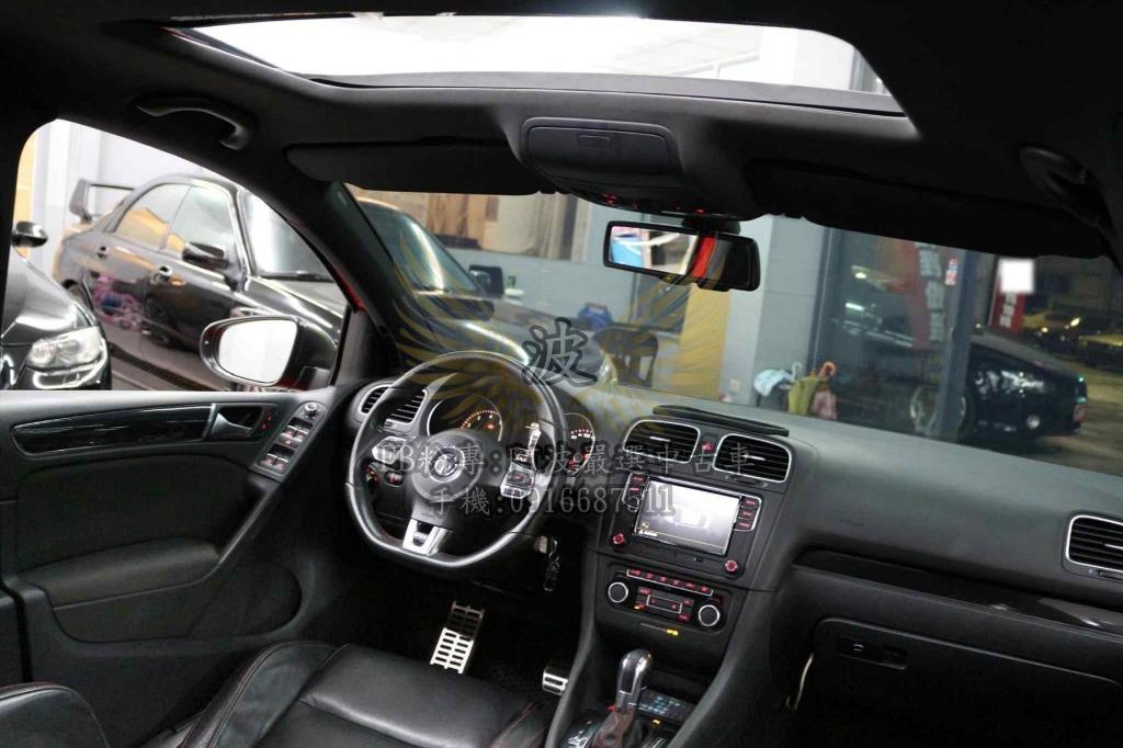 福斯 GTI 小鋼炮 雙出排氣管 天窗倒車螢幕 遮風擋雨代步車