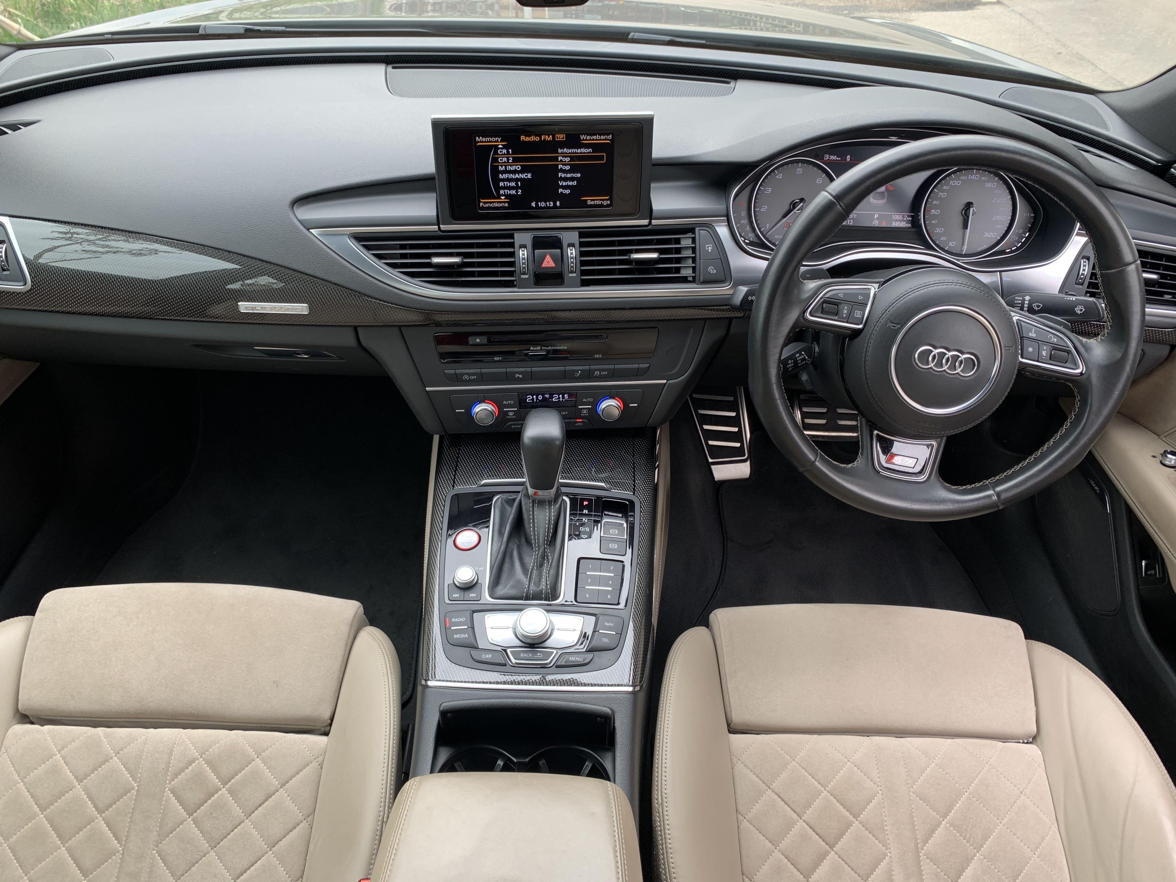 Audi S7 Sportback 4.0 TFSI quattro S tronic 5-Dr (A)