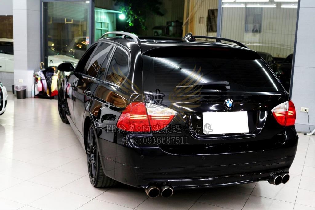 BMW 328I 四出排氣管 客製化改裝