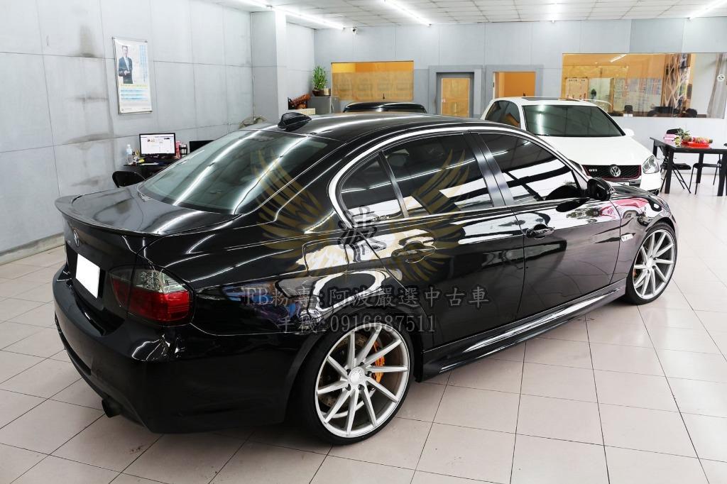 BMW 335I 倒車影像 雙出排氣管 鋁圈 客製化改裝