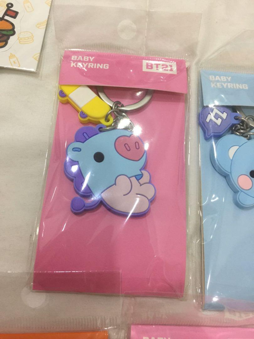Bt21 official merchandise | Bt21 official keychain | Bt21 official gantungan kunci | Bts