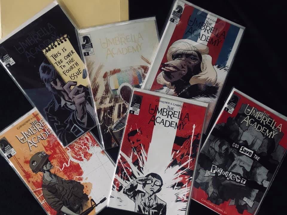 REPRICED! Dallas // SEASON 2 in Netflix THE UMBRELLA ACADEMY rare collector's comics