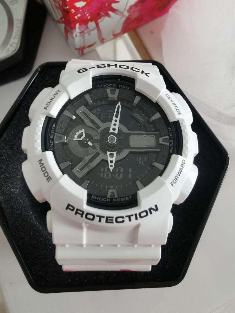 G Shock Casio limited edition G-SHOCK contactless wearable, designed by artist JaeSuk Kim. Warranty card dated 24 Nov 2016