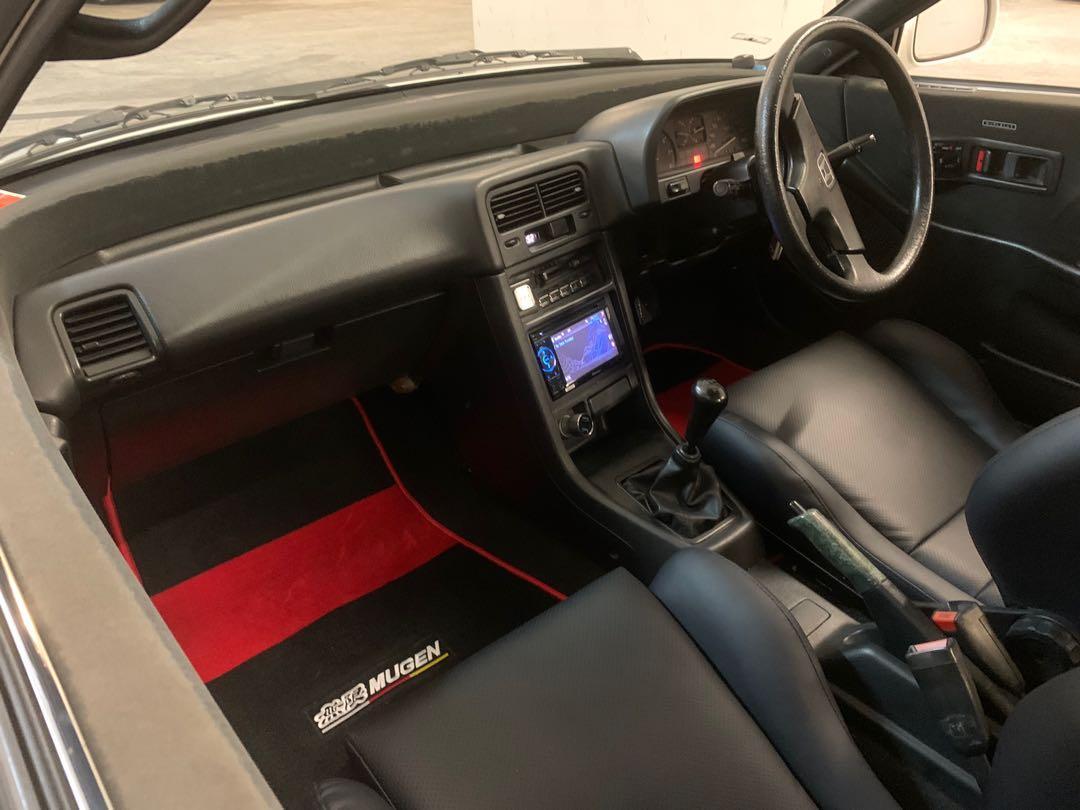 Honda CRX EF7 Manual