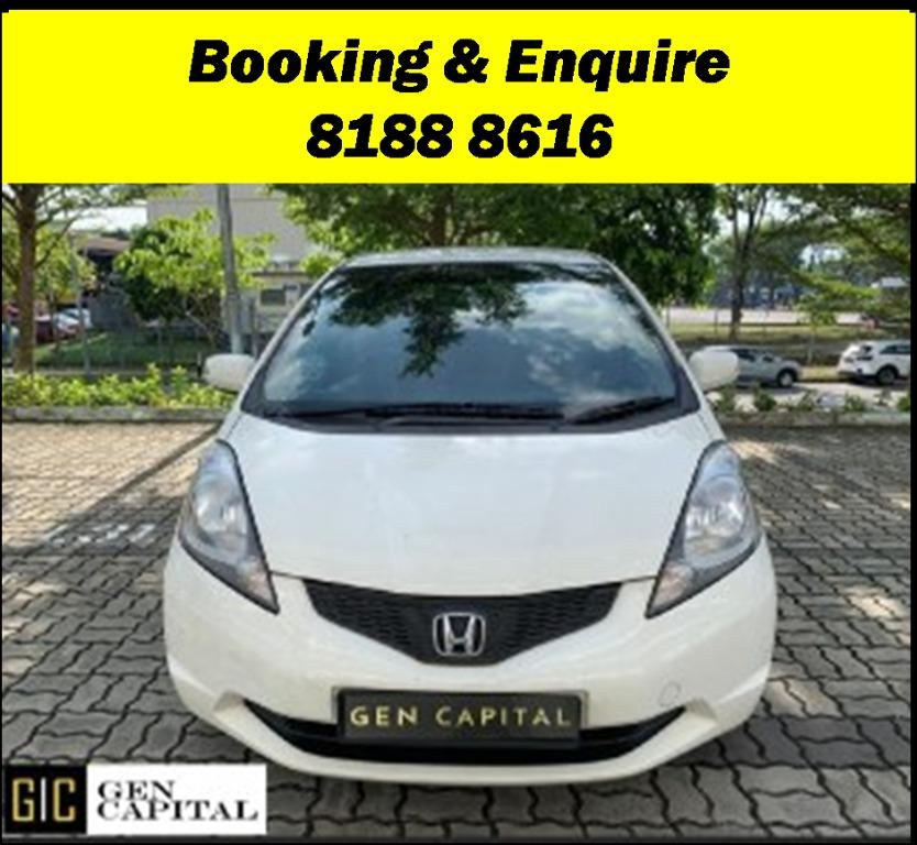 Honda Fit FRIYAYYY!!!  We have lowered rental rates due to Coronavirus for you to travel with a peace of mind. Fuel efficient & Spacious. PHV/ Personal/ Parcel delivery ready. Just $500 Deposit driveoff immediately. No hidden cost. Whatsapp 8188 8616 now!