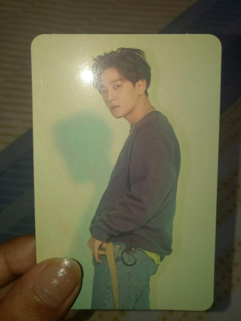 iKON Donghyuk photocard NK Return Concept Red version