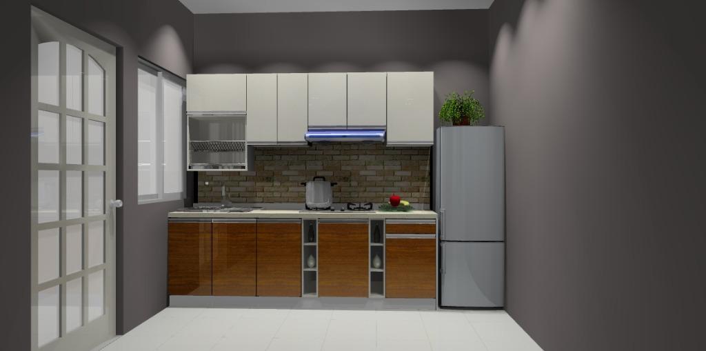 Harga Kabinet Dapur Pasang Siap Desainrumahid Com