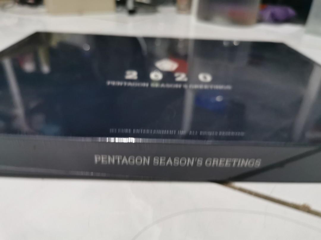 Kalender pentagon season greeting 2020 full set seal