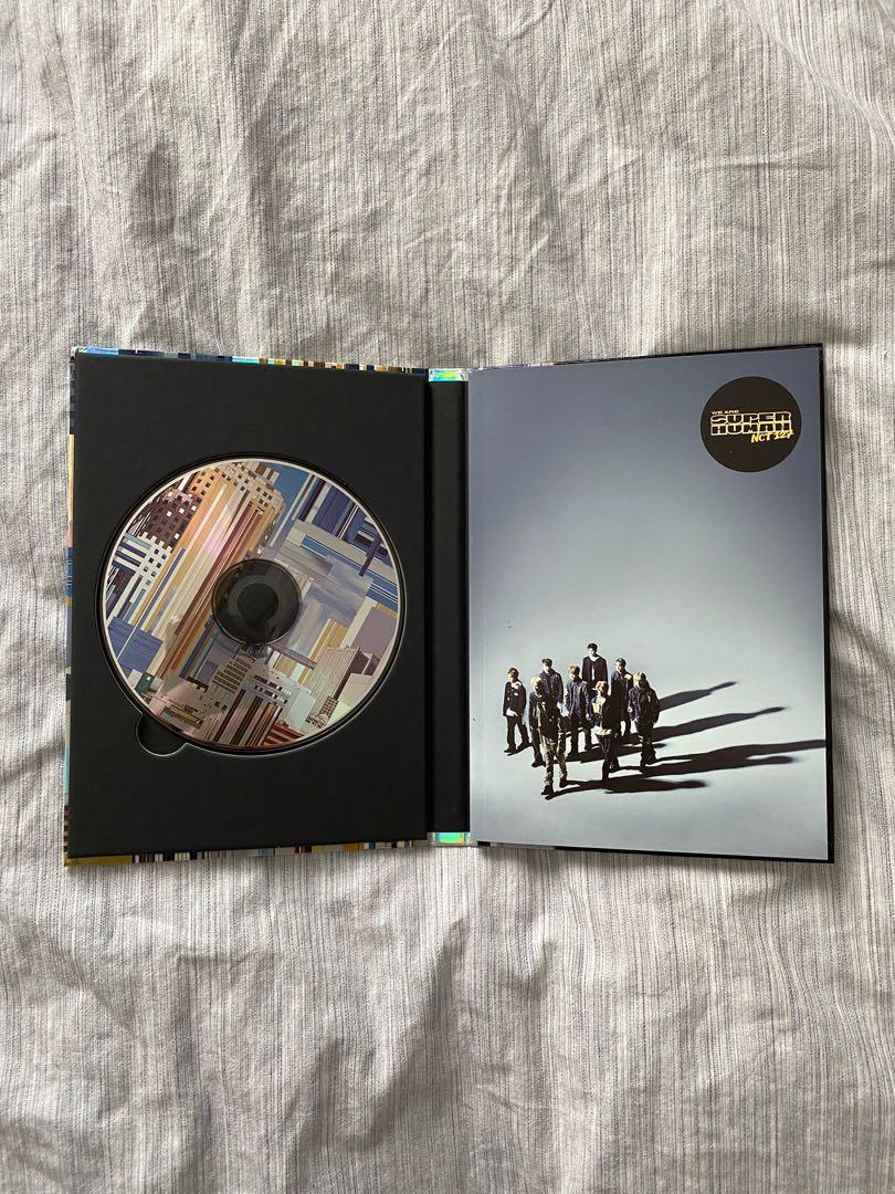 NCT 127 We Are Superhuman 4th Mini Album (NO PC/CC)