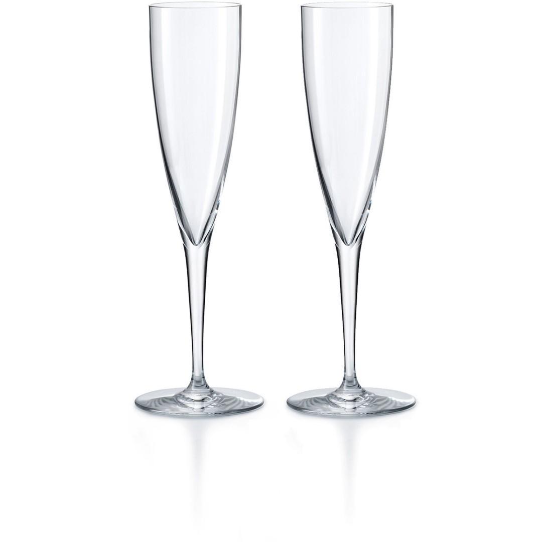 New Baccarat champagne flutes Liquidation reg price $330.00