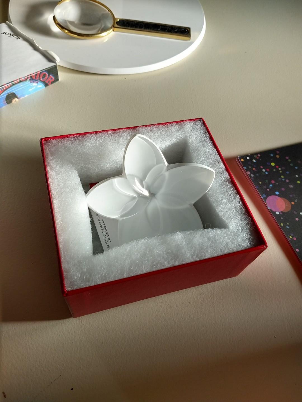 New Baccarat crystal flower Bloom Liquidation Reg price $175.00