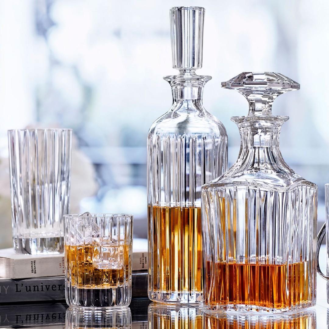 New Baccarat Whiskey Decanter Liquidation reg price $1680.00