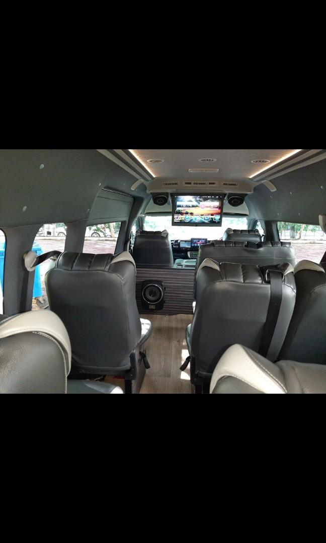 New VIP Minibus  Booking (with driver) Per trip/ hourly basis