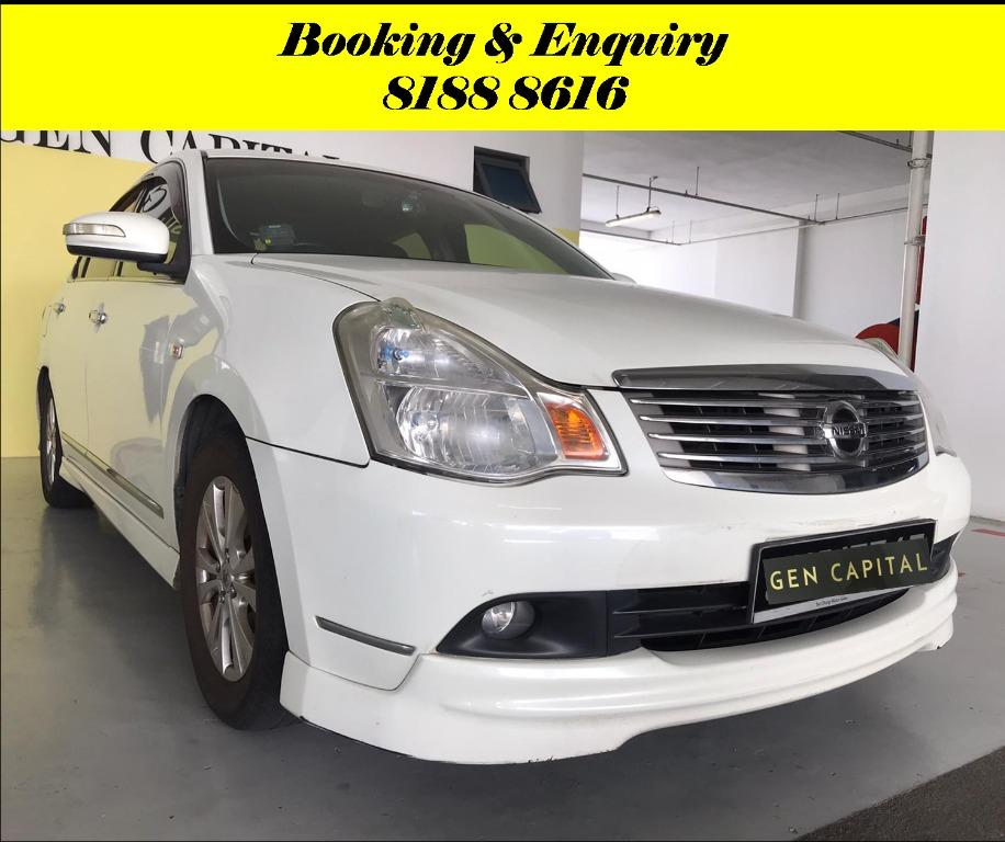Nissan Sylphy 1.6A FRIYAYYY!!! *JUST IN* We have lowered rental rates due to Coronavirus for you to travel with a peace of mind. Fuel efficient & Spacious. Just $500 Deposit driveoff immediately. No hidden cost. Whatsapp 8188 8616 now!