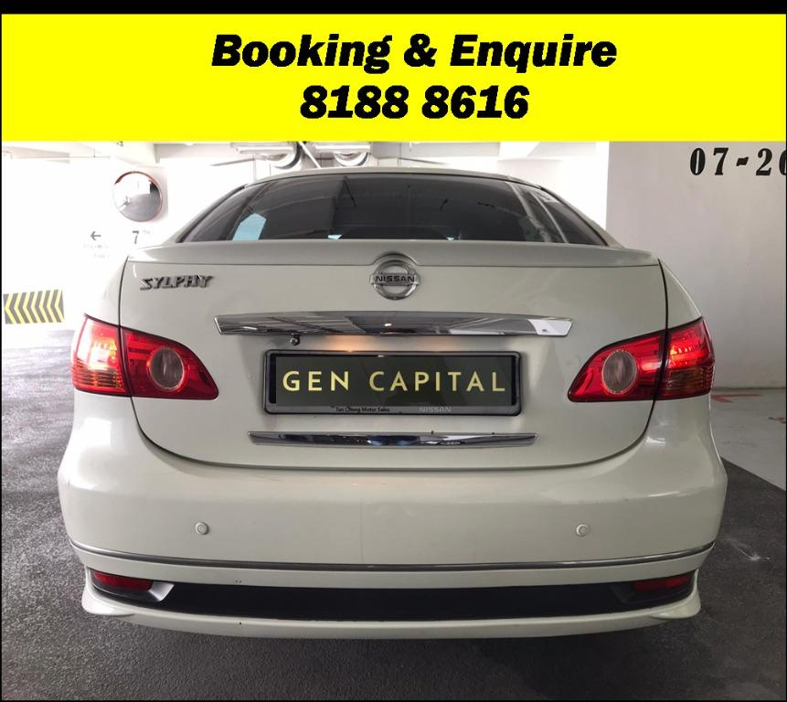 Nissan Sylphy FRIYAYYY!!!  We have lowered rental rates due to Coronavirus for you to travel with a peace of mind. Fuel efficient & Spacious. Just $500 Deposit driveoff immediately. No hidden cost. Whatsapp 8188 8616 now!
