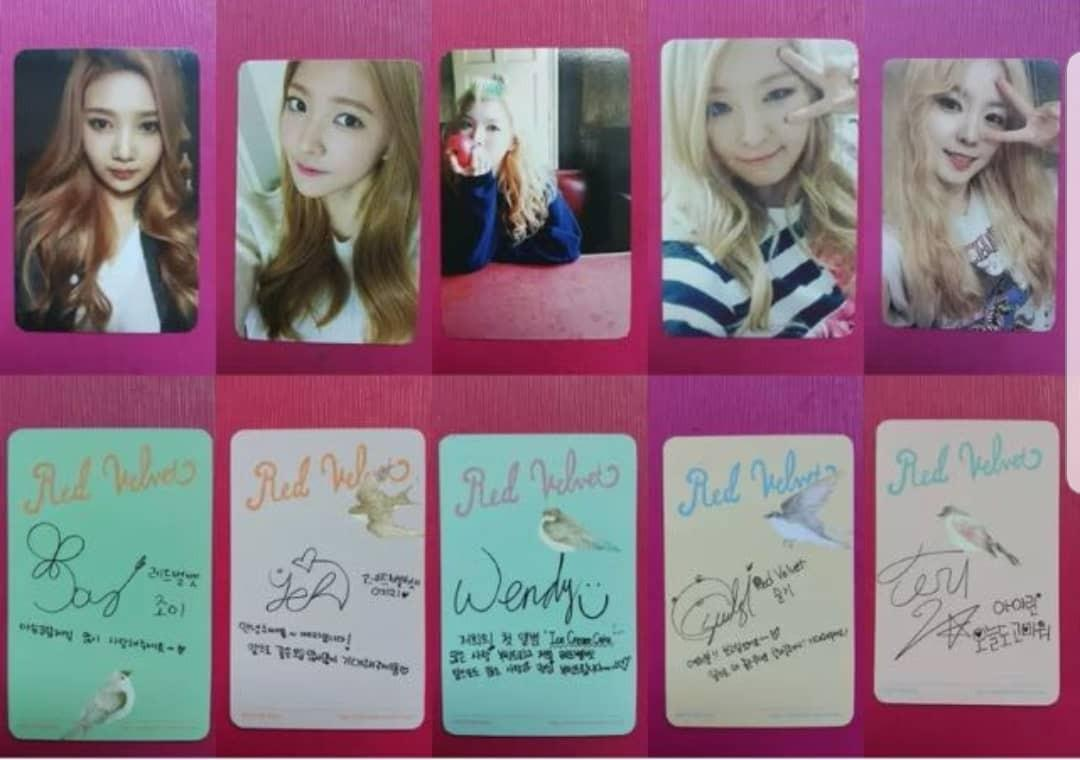 RED VELVET OFFICIAL SMTOWN MUSEUM PHOTOCARD PREORDER