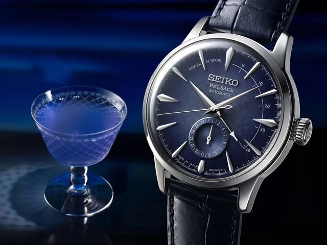 Seiko Presage Cocktail Time Limited Edition Watches SRPC01 SRPC03 SRPC01J1 SRPC03J1 Starlight Sakura Fubuki