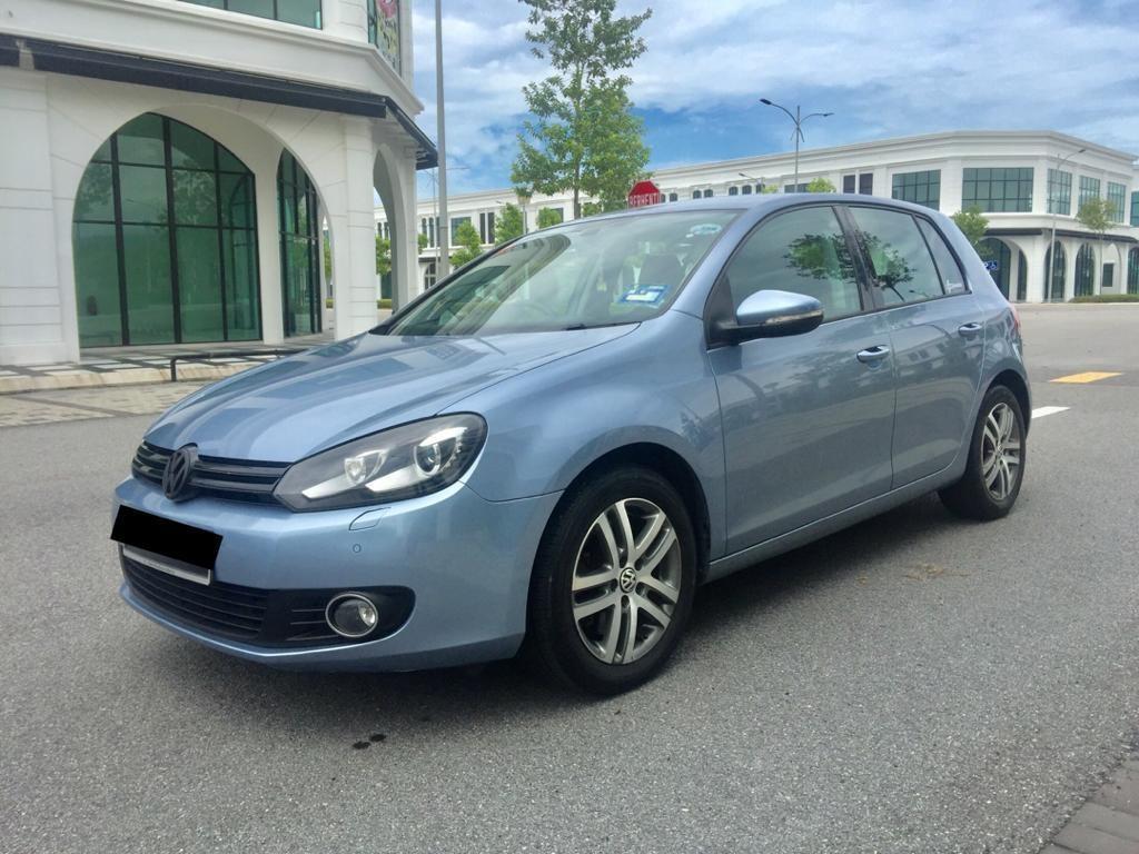 SEWA BELI BERDEPOSIT>>VW GOLF MK6 1.4 TSi (A) 2011