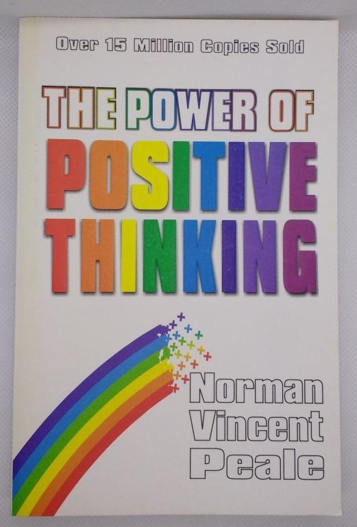 The Power of Positive Thinking by Norman Vincent Peale book paperback New