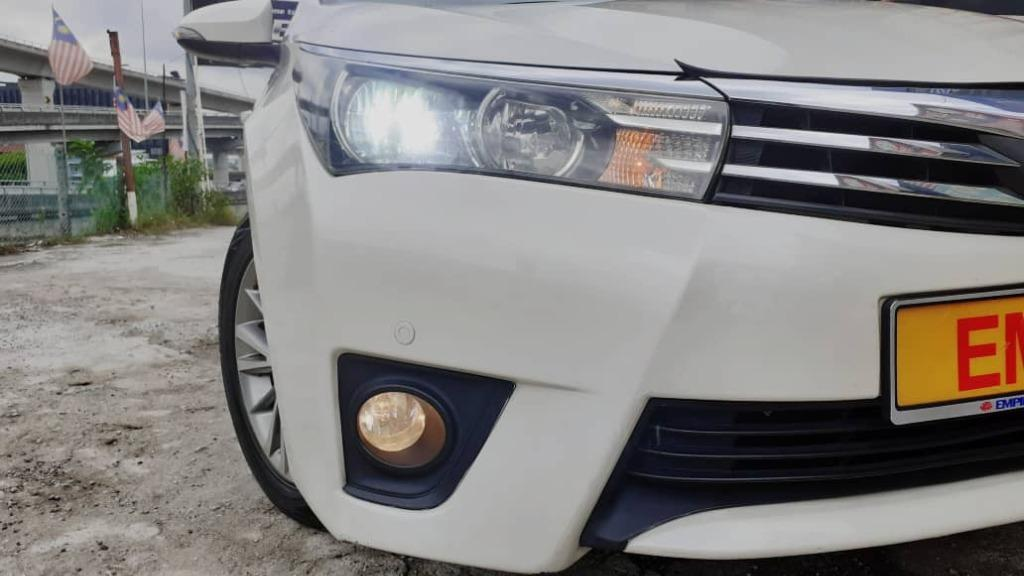 TOYOTA COROLLA ALTIS 1.8E (A) DUAL VVT-I PREMIUM EXECUTIVE !! LIMITED EDITION !! NEW FACELIFT !! PREMIUM HIGH SPECS !! ( WX 2361 ) 1 CAREFUL OWNER !!