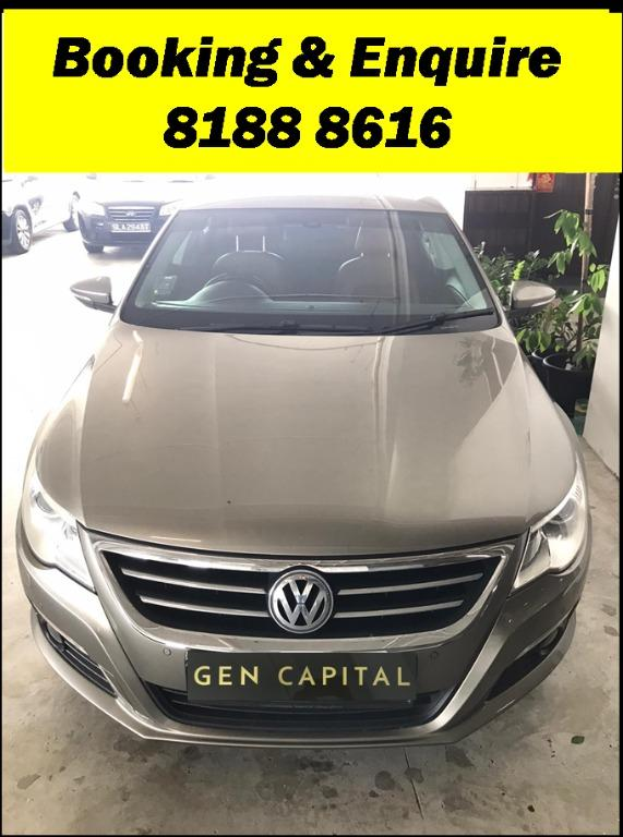 Volkswagen Passat FRIYAYYY!!!  We have lowered rental rates due to Coronavirus for you to travel with a peace of mind. Fuel efficient & Spacious. Just $500 Deposit driveoff immediately. No hidden cost. Whatsapp 8188 8616 now!