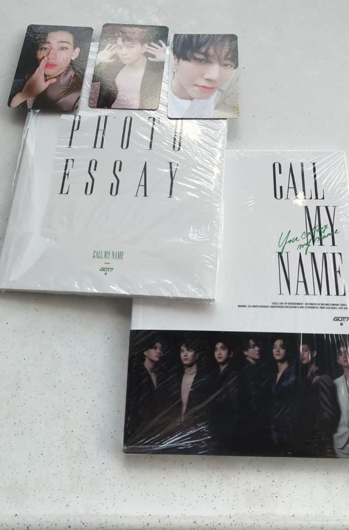 WTS UNSEALED YCMN ALBUM with PHOTO ESSAY & PHOTOCARD