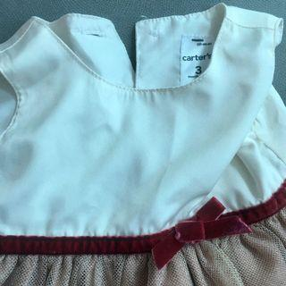 Carter's Baby Gown 0-3mos