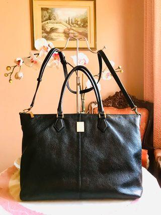SALE! Original Courrone 2-way Genuine Tote Bag (Excellent Condition, Free Shipping)