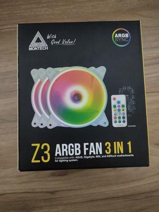 君主Z3 ARGB風扇(RGB可編成)