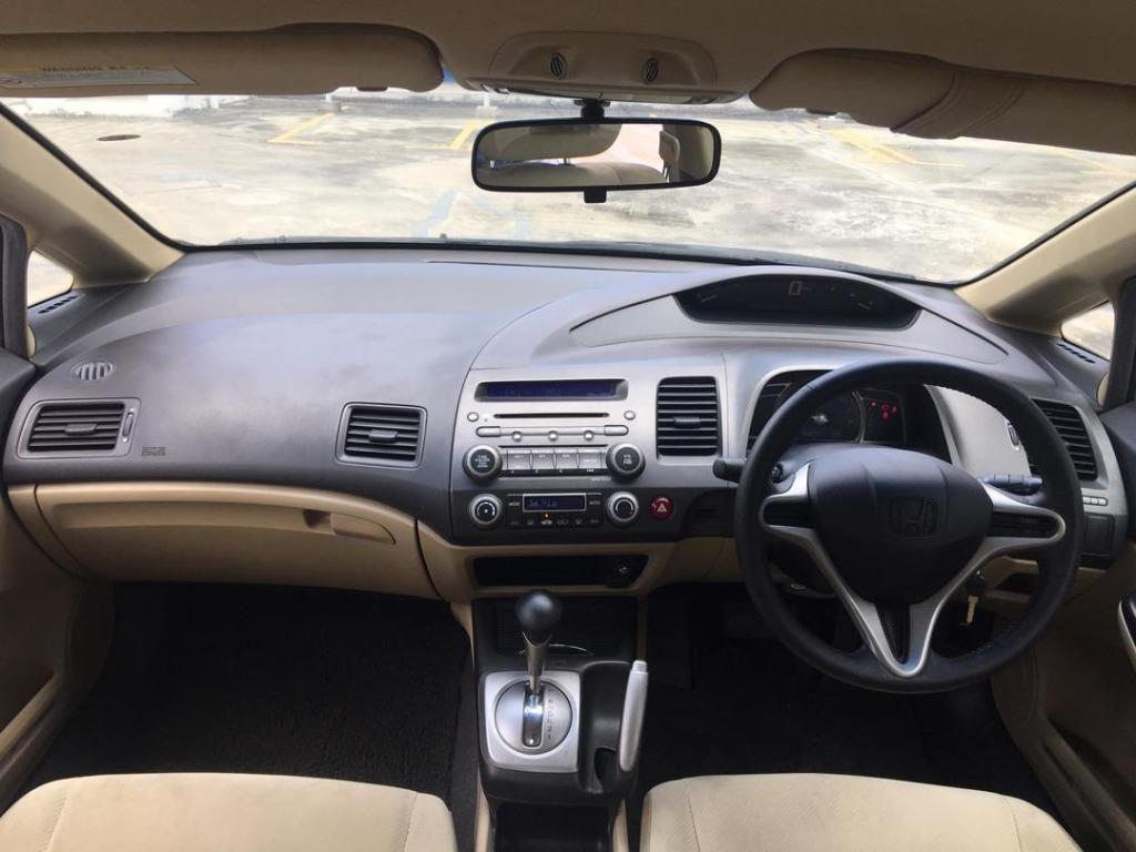 2009 Honda CIVIC 1.8 S i-VTEC (A) B/L LOAN KEDAI DP 3-5K