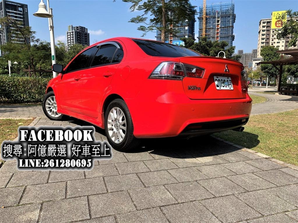 2011 Fortis頂規io 免頭款全額貸 FB搜尋:阿億嚴選 好車至上 非Altis、Elantra、Civic