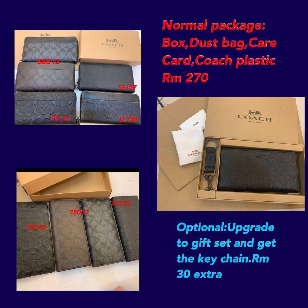 (22/02/20)ready stock authentic coach women wallet men backpack leather belt sling bag card holder clutch crossbody iPhone holder hbbjjkjnhhjjbv coach jnmhnnm