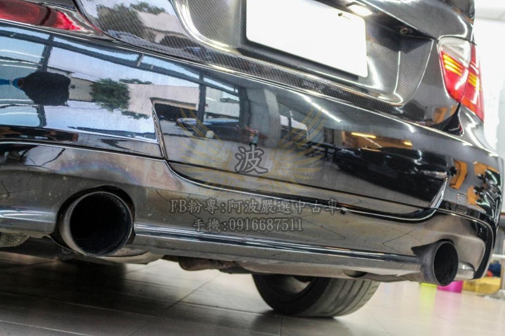 BMW 335I 改鋁圈 雙出排氣管 客製化改裝