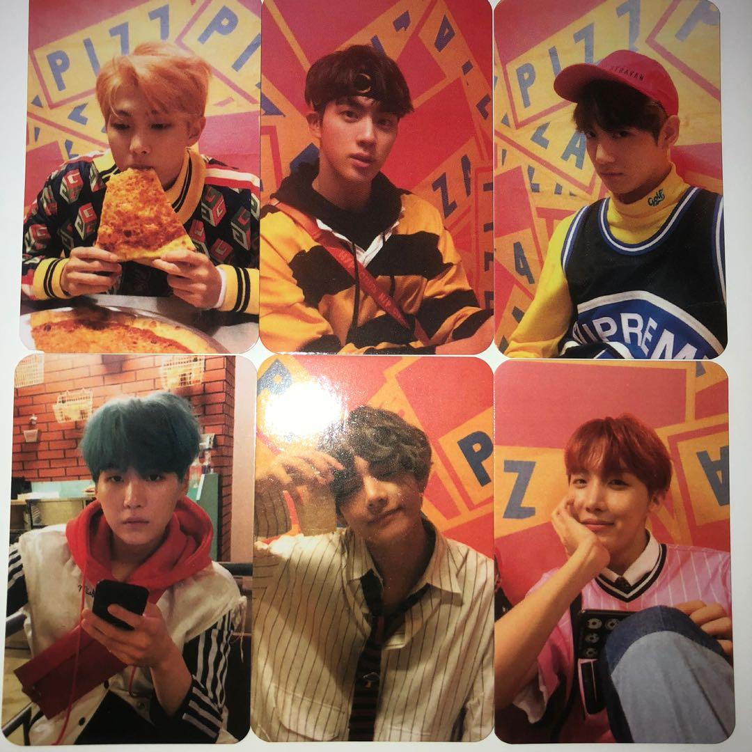 BTS UNOFFICIAL LOVE YOURSELF : HER VERSION E PHOTOCARD